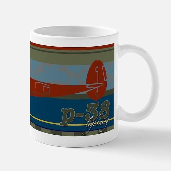 P-38 too Mug