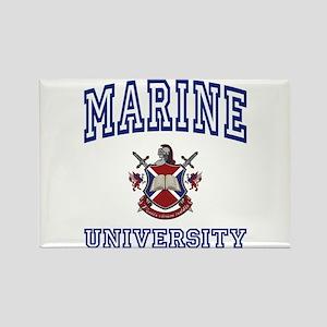 MARINE University Rectangle Magnet