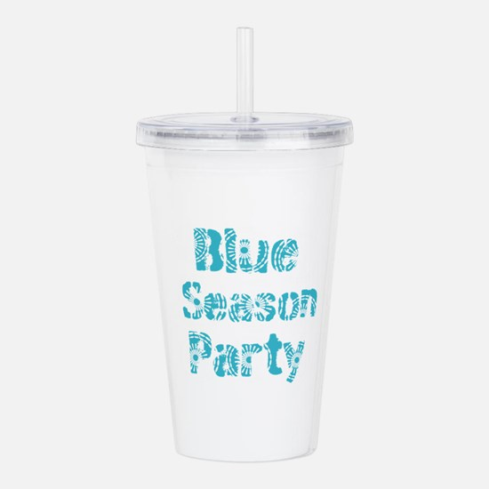 Add Cool Text Acrylic Double-wall Tumbler