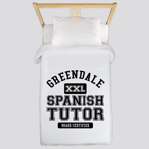 Greendale Spanish Tutor Twin Duvet