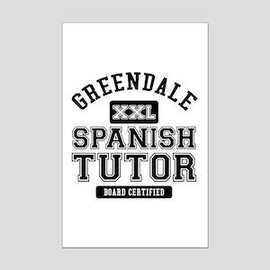 Greendale Spanish Tutor Mini Poster Print