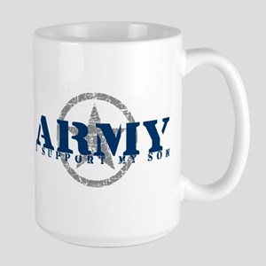 Army - I Support My Son Large Mug