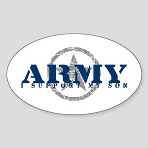 Army - I Support My Son Oval Sticker