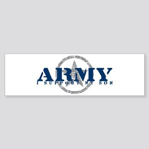 Army - I Support My Son Bumper Sticker