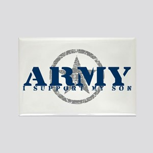 Army - I Support My Son Rectangle Magnet