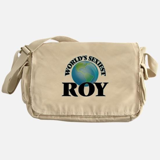 World's Sexiest Roy Messenger Bag
