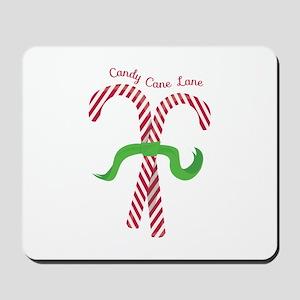Candy Cane Lane Mousepad