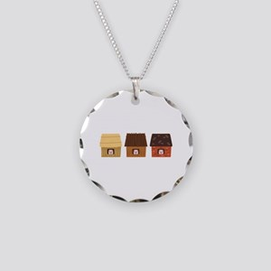 Three Pigs Necklace