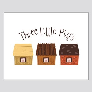 Three Little Pigs Posters
