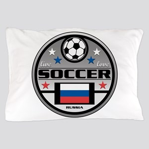 Live Love Soccer Russia Pillow Case