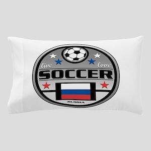 Live Love Soccer Russia Pillow Case