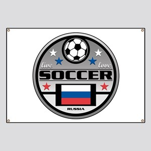 Live Love Soccer Russia Banner