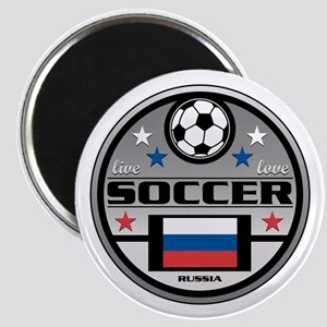Live Love Soccer Russia Magnet
