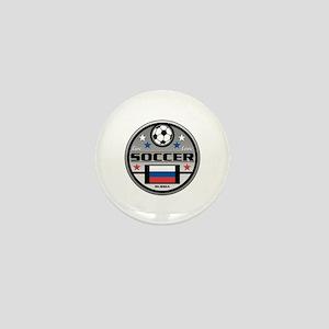 Live Love Soccer Russia Mini Button (10 pack)
