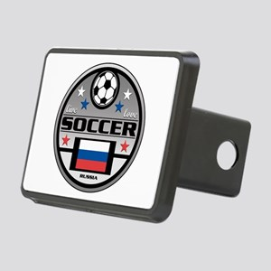 Live Love Soccer Russia Rectangular Hitch Cover