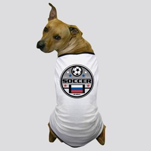 Live Love Soccer Russia Dog T-Shirt