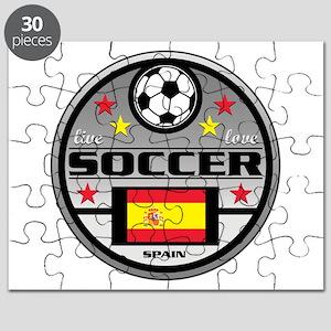 Live Love Soccer Spain Puzzle