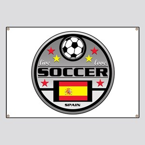 Live Love Soccer Spain Banner
