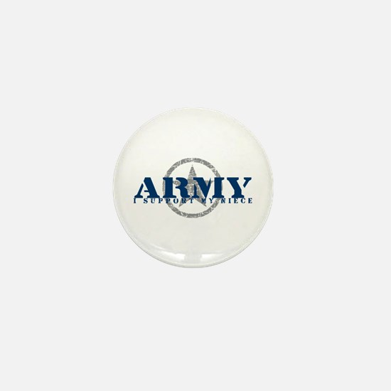 Army - I Support My Niece Mini Button