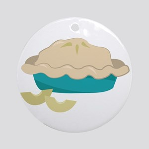 Apple Pie Ornament (Round)