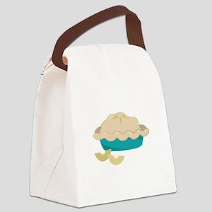 Apple Pie Canvas Lunch Bag