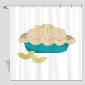 Apple Pie Shower Curtain