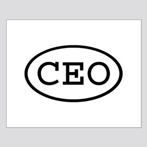 CEO Oval Small Poster