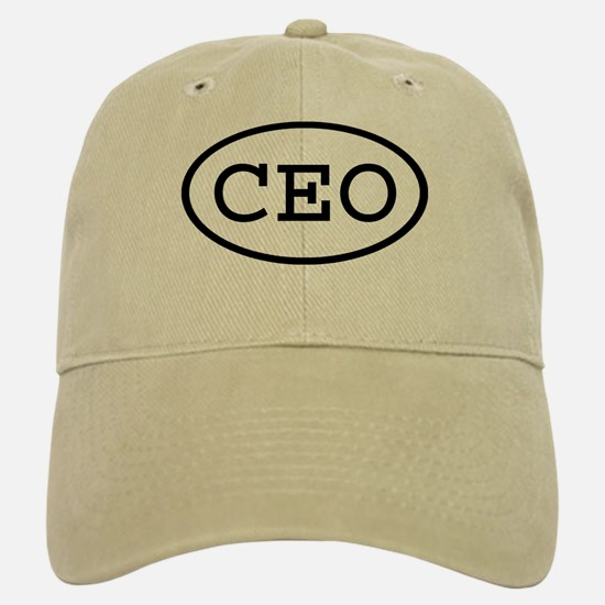 CEO Oval Baseball Baseball Cap