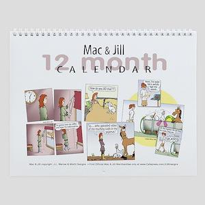 Mac & Jill Wall Calendar