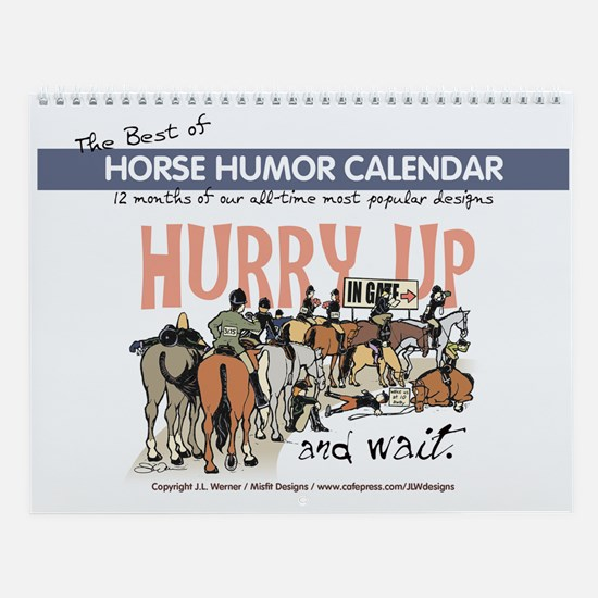 Best of Horse Humor Wall Calendar
