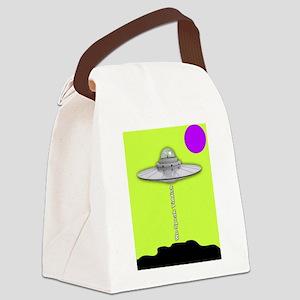 We Speak Yiddish Canvas Lunch Bag