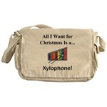 Christmas Xylophone Messenger Bag