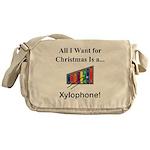 Christmas Xylophone Messenger Bag