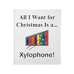 Christmas Xylophone Throw Blanket