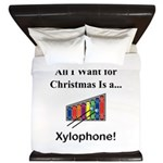 Christmas Xylophone King Duvet