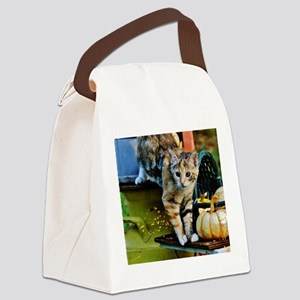 """WHAT'S THAT?"" Canvas Lunch Bag"