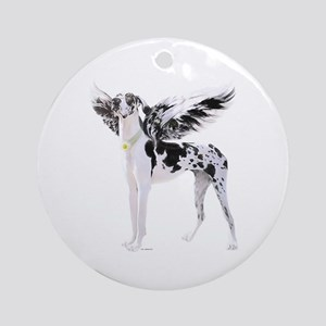 Harle Dane Angel UC Ornament (Round)
