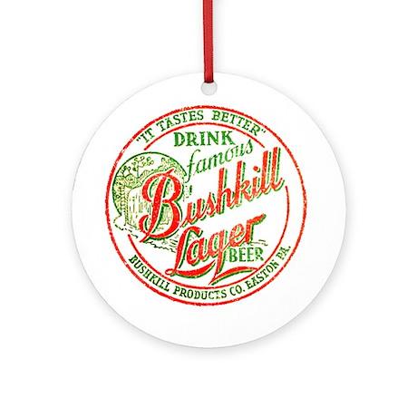 Bushkill Beer-1937 Ornament (Round)