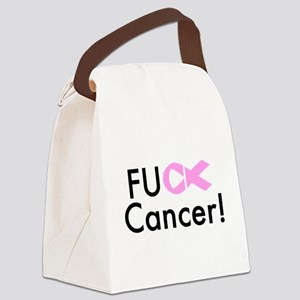 Fuck Cancer! Canvas Lunch Bag