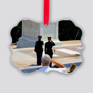 Taps at Tomb of Unknown Picture Ornament