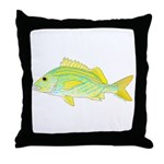 French Grunt Throw Pillow