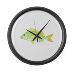 French Grunt Large Wall Clock