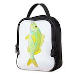 French Grunt Neoprene Lunch Bag