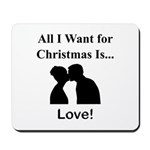 Christmas Love Mousepad