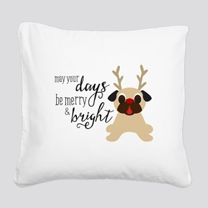 May Your Days Be Merry & Bright Christmas Reindeer