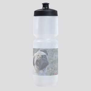 Pug Sports Bottle