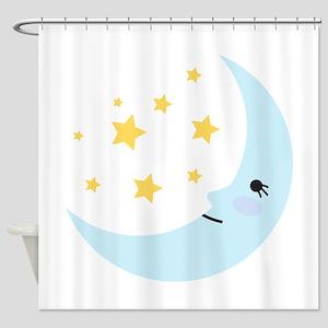 Sweet Dreams Moon Shower Curtain