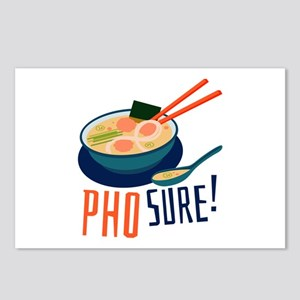 Pho Sure Postcards (Package of 8)
