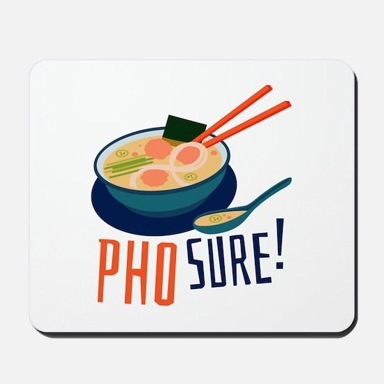 Pho Sure Mousepad