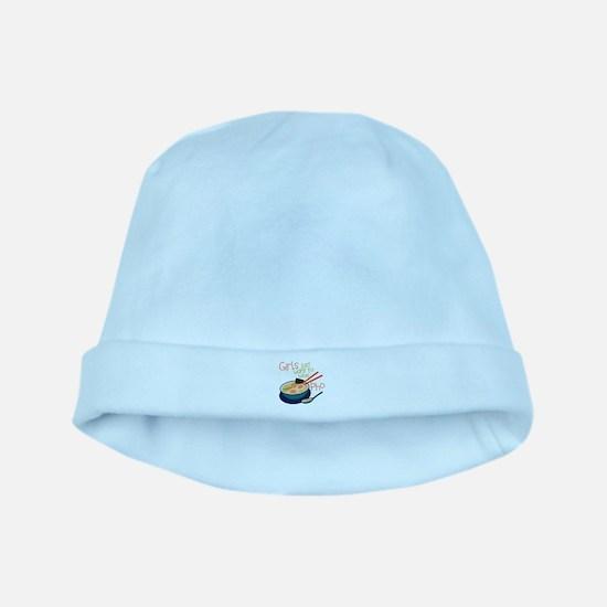 Girls Just baby hat